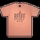 """""""BELIEF"""" EMPIRE TEE (TERRACOTTA)"""