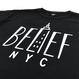 """BELIEF"" EMPIRE TEE (BLACK)"