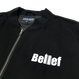 """BELIEF"" WORLD TRADE JACKET (BLACK)"