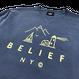 """BELIEF"" COUNTRY CREWNECK (DENIM)"