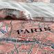 Covers&Co シングルサイズ ベッドカバーParis citymap