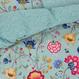 Pip studio シングルサイズ Floral Fantasy オーシャンブルー
