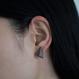 JIVITA   Snake Canyon post earring