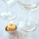 Walnut Candle with Base | Standard Set