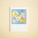 SATURN PRESS 活版印刷カード | Summer