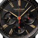 Louis Erard Excellence ギョーシェブラック&サンドカラー :クロノグラフ LE71231NN32BVFN17