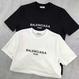 バレンシアガ balenciaga tシャツ 2色 男女兼用 人気新品 激安! シンプル ウィメンズファッション メンズファッション