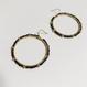 Vintage circle pierce/earring