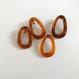 Oval hoop pierce/earring