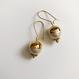 Vintage pearl pierce/earring
