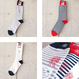 SUNNY SPORTS〈サニースポーツ〉 BORDER & RIB SOX NAVY/GREY/WHITE RIB