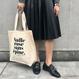 épine original canvas tote bag