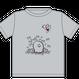 ワンマングッズ「えりちゃんTシャツ」(グレー/ホワイト)