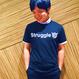 九段下ONIONS Struggle Tシャツ(黒/白)