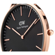 DW CLASSIC BLACK COLECTION    36 MM CORNWALL