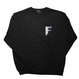 F.F.F. Sweatshirt FINE FRESH FIERCE[BLACK]