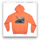 ACAB HOODIE safety orange