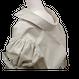Volume ribbon sleeve shirt