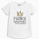 プリンス チャーミング Tシャツ(3か月~6歳) ホワイト