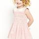 カラーワンピース (3か月~6歳)  ピンク