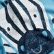 ゼブラ柄 & ストライプ ロンパース 2 枚組 (0~24か月)  ブルー