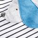 イヌ柄 ロンパース 2 枚組 (0~24か月)  ブルー