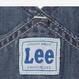 【Lee Kids】OVER ALLS(Mid Used)/オーバーオール(中色ブルー)