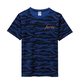 forte mini Logo Tiger Stripe T-shirts (NAVY) - General Price