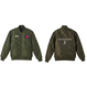 """iSOLATED ARTS """"ART""""MA-1 Jacket (Navy/Black/Olive)【NEXT12/13~START】"""