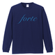 forte Original Long Sleeve T-Shirts(Navy/forteBlue,Black/White)General Price