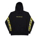 Band Hood Sweater – Black/Yellow