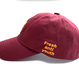 Fray Logo Ball Cap – Burgundy