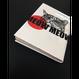 【ロウ引き紙ブックカバー】だるまA_文庫・新書サイズ対応