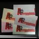【ロウ引き紙ブックカバー】ねこC_文庫・新書サイズ対応