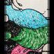 【手刺繍】タック