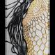 【手刺繍】黄金の太陽