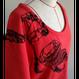 【手刺繍】insect cage(虫籠)・ラグランスリーブTシャツ・裏毛ニット