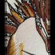 【手刺繍】クルミとリス
