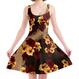 Hibiscus Skater Dress