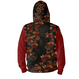 Japanesque Rose and Butterfly Unisex Hoodie