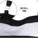 モノトーンボーダーフリルレースアップ水着/ビキニ M-XL