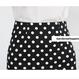 春夏ポルカドットフィッシュテールスカート XS-XL