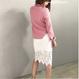 MY 春ハイネックオーバーサイズロング袖セーター 4色 93