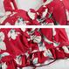 【在庫あり】花柄リボンビスチェ ビキニ/水着 2Color/3点セット 93
