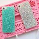 キラキラグリッター 選べる4色iphoneケース