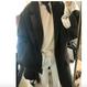 韓国オーバーサイズテーラードジャケット冬コート