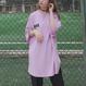 韓国ストリートVOYAGEURオーバーサイズプリントTシャツ