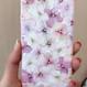 アジサイピンク シリコンラバー iphoneケース