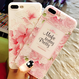 バラor桜 ピンクシリコンiphoneケース