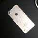 シャイニースター ブラック&クリア スマホケースiphone6/6Plus/7/7Plus
